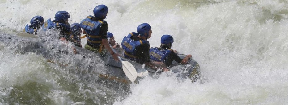Raft the Zambezi