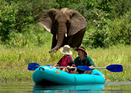 Canoeing on the Upper Zambezi